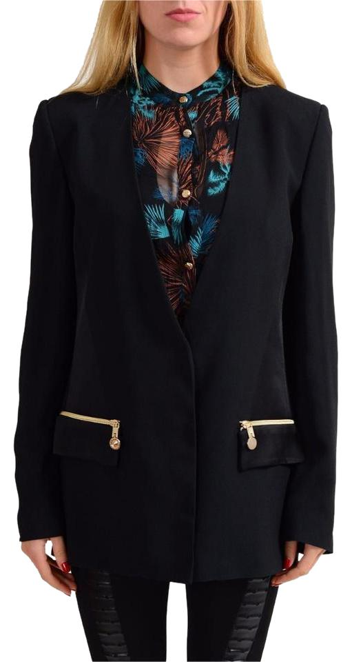 6fcf7543b0 Versace Jeans Collection Black One Button Women s Blazer Size 12 (L ...