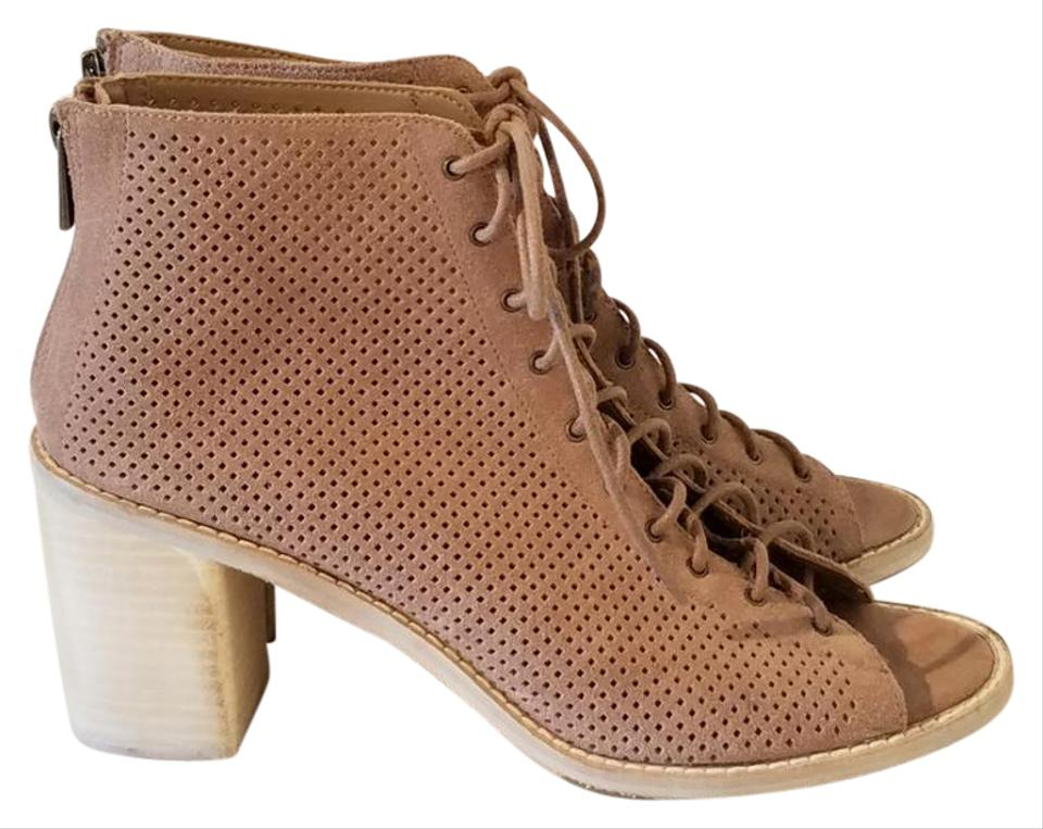 Dolce Vita Taupe Nwot Morie Morie Morie Perforated Heeled Sandals e6463d