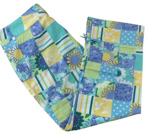 Lilly Pulitzer Capris Multi Print