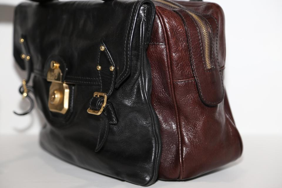 Dolce amp; Leather Allyson amp;Gabbana Dolce Gabbana Satchel Brown SSZBH