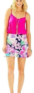 Lilly Pulitzer Mini Skirt Navy Tipping Point