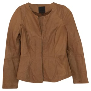 Joie tan Leather Jacket