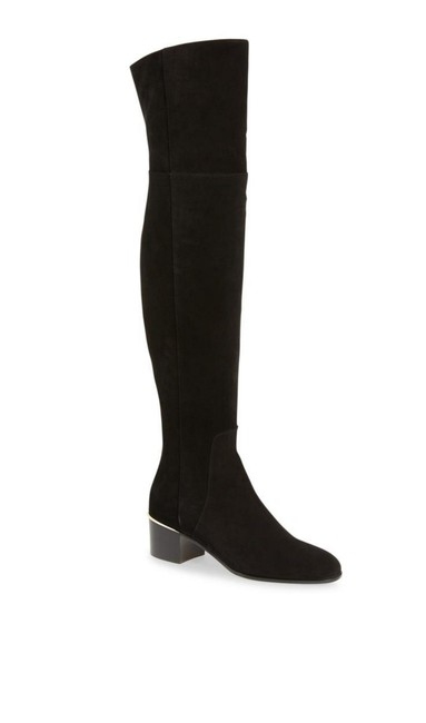 Item - Black New Harmony Over The Knee Suede Boots/Booties Size EU 40.5 (Approx. US 10.5) Regular (M, B)