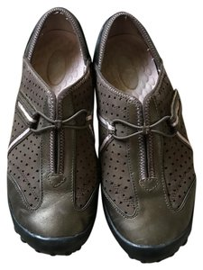 Privo Leather Uppers Slip-on No Box Removable Insole Bungee Brown/Bronze Flats