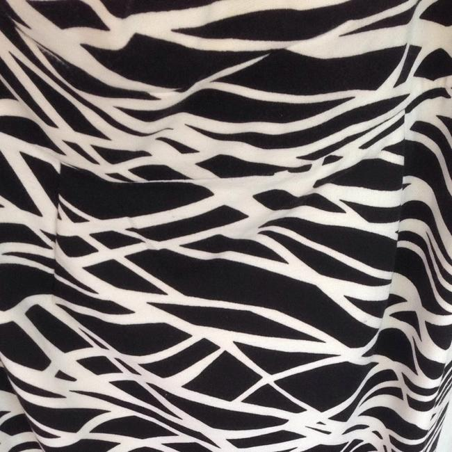 Calvin Klein short dress Black + White Print Animal One And on Tradesy