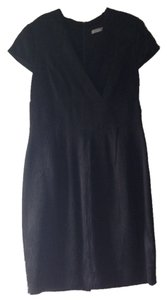 Marc New York Lbd Exposed Zipper Dress