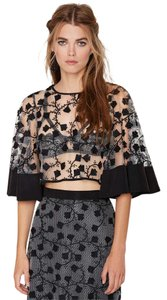 alice McCALL Top black / floral
