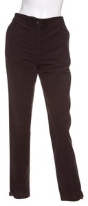 Gunex Straight Pants Brown