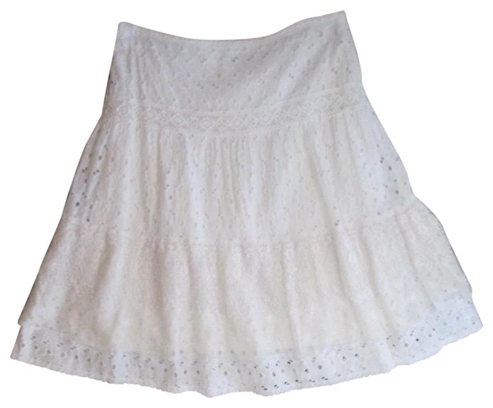 37552ee52b ECI New York White Skirt Size 6 (S, 28) - Tradesy