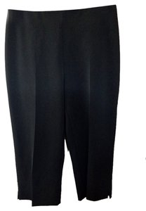 Joseph Ribkoff Stretch Fabric Capris Black