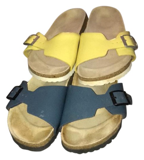 a90737a80768 Birkenstock Arizona Eva Sale Leather Ankle Strap Sandals | Bus Tracker