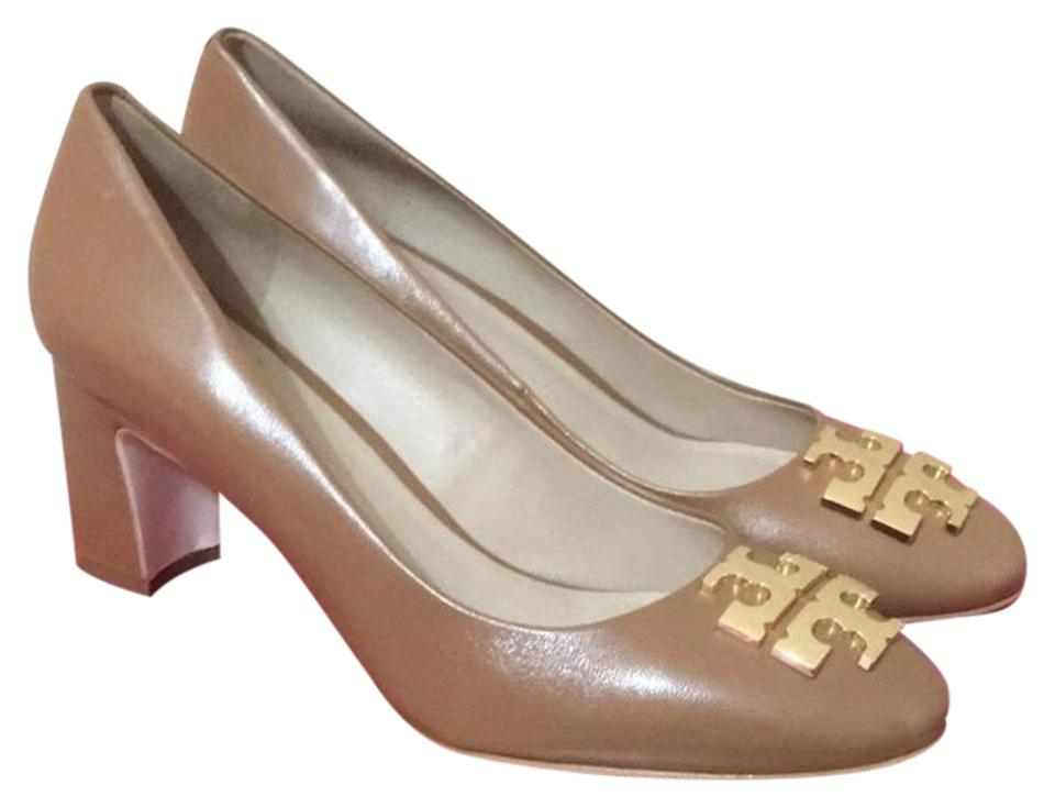 Tory Burch Tan Laura 70mm 70mm Laura Pumps 66d4b6