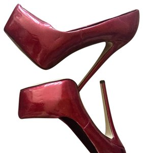 Boutique 9 dark red Platforms