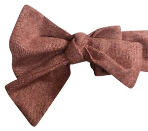 Anthropologie Anthropologie Miss. Alright Wool Bow Belt