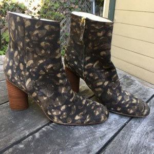 Jérôme Dreyfuss Ankle Sexy Suede Camouflage Boots