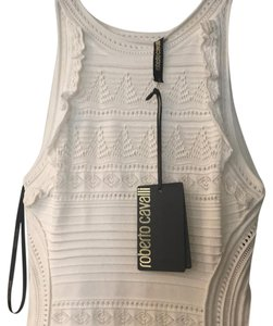 Roberto Cavalli short dress white on Tradesy