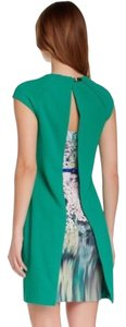 Ted Baker short dress green on Tradesy