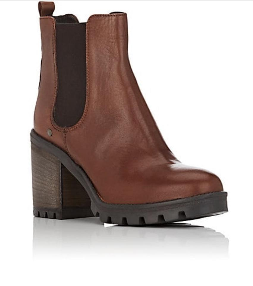 b0ed5ba71c0 Barneys New York Brown Lug-sole Leather Chelsea Boots/Booties Size US 10  Regular (M, B) 63% off retail