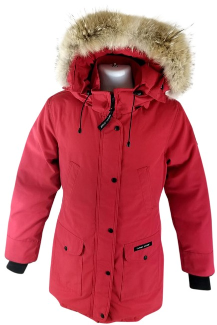 Item - Red 'trillium' 6550l Coat Size 4 (S)