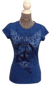 Eyeshadow T Shirt blue