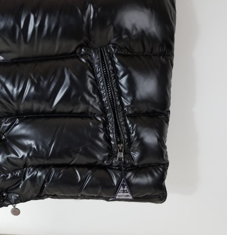 143e0cccf Moncler Shinny Black 'ghany' Water Resistant Nylon Down Puffer Vest Size 14  (L) 22% off retail