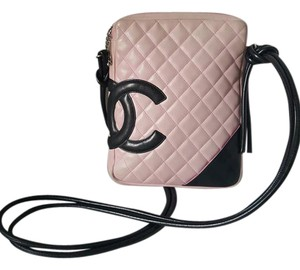 Chanel Quilted Cambon Leather Cross Body Bag