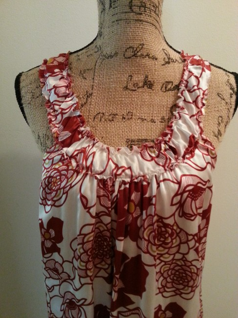 Other short dress Red Print on Tradesy