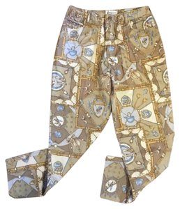 Carroll Reed Capri/Cropped Pants brown gold