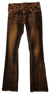 Ariya Jeans Boot Cut Jeans-Distressed