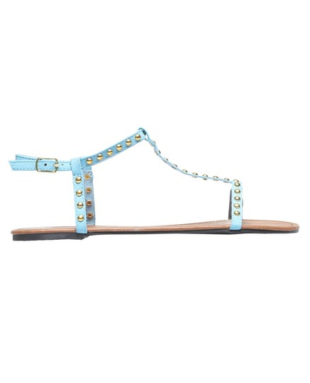 Wet Seal Studded Blue Sandals