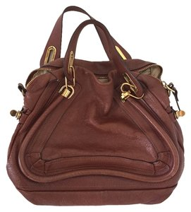Chlo Satchel in Tan