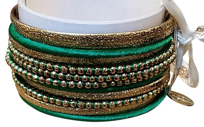Item - Emerald Green and Gold New Bracelet