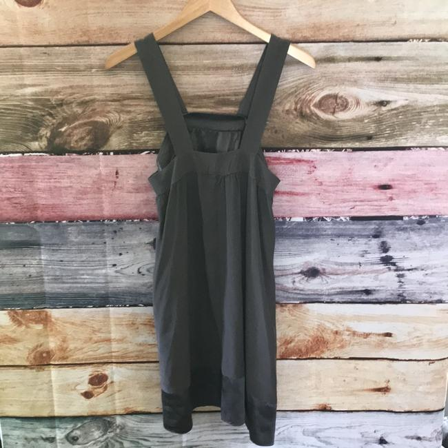 Fluet short dress charcoal on Tradesy