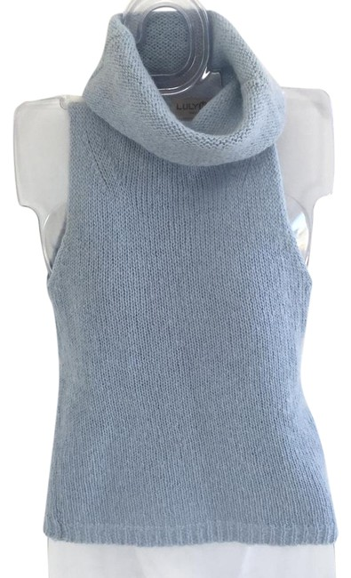 Preload https://img-static.tradesy.com/item/22027864/sleeveless-with-left-side-pocket-baby-blue-sweater-0-1-650-650.jpg