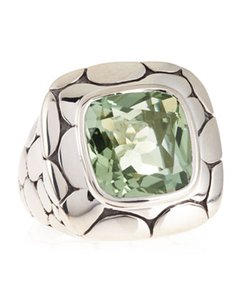 John Hardy JOHN HARDY GREEN AMETHYST KALI COLLECTION RING
