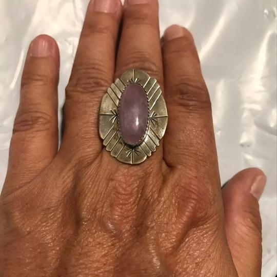 D. SPENCER STATEMENT RING D. SPENCER STATEMENT RING STERLING SILVER NATIVE AMERICAN RING