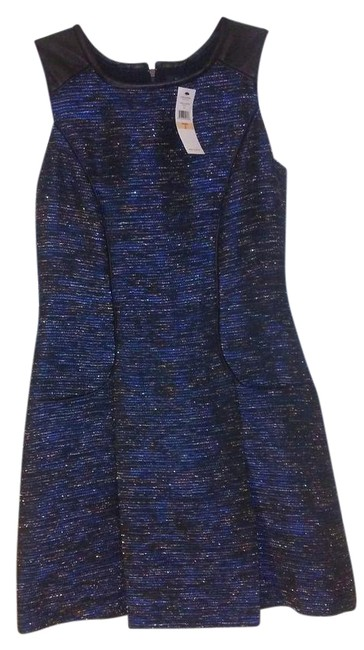 Preload https://img-static.tradesy.com/item/22028008/cynthia-steffe-marine-blue-black-and-silver-pigment-pacific-pleated-leather-short-cocktail-dress-siz-0-1-650-650.jpg