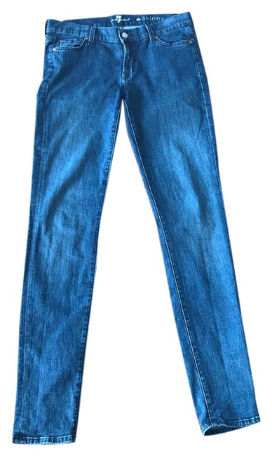 Preload https://img-static.tradesy.com/item/22028075/7-for-all-mankind-blue-the-skinny-jeans-size-29-6-m-0-1-650-650.jpg