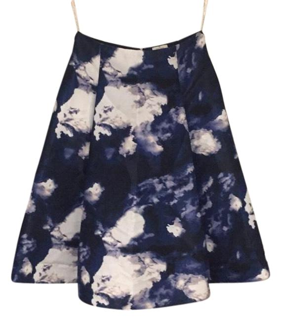 Preload https://img-static.tradesy.com/item/22028153/kate-spade-blue-dusk-clouds-print-a-line-skirt-size-6-s-28-0-5-650-650.jpg