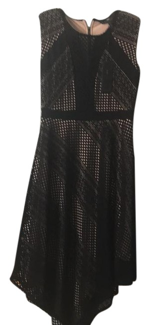 Preload https://img-static.tradesy.com/item/22028179/bcbgmaxazria-black-and-nude-tracie-mid-length-night-out-dress-size-6-s-0-1-650-650.jpg