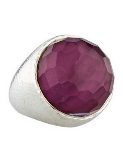 Preload https://img-static.tradesy.com/item/22028181/ippolita-boysenberry-fatto-a-mano-mother-of-pearl-and-quartz-sterling-silver-ring-0-3-540-540.jpg