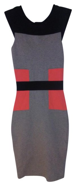 Preload https://img-static.tradesy.com/item/22028309/french-connection-black-gray-orange-mid-length-night-out-dress-size-2-xs-0-1-650-650.jpg
