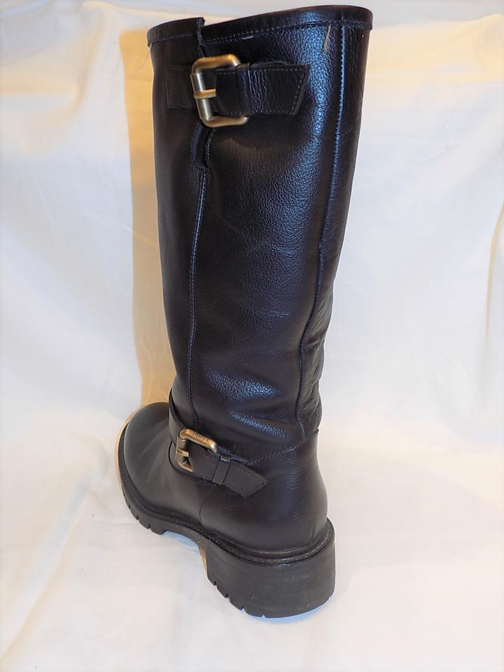 426bd45e1f9 Fendi Black Genuine Rabbit Fur Lined Motorcycle Sold Out Boots/Booties Size  US 6.5 Regular (M, B) 66% off retail