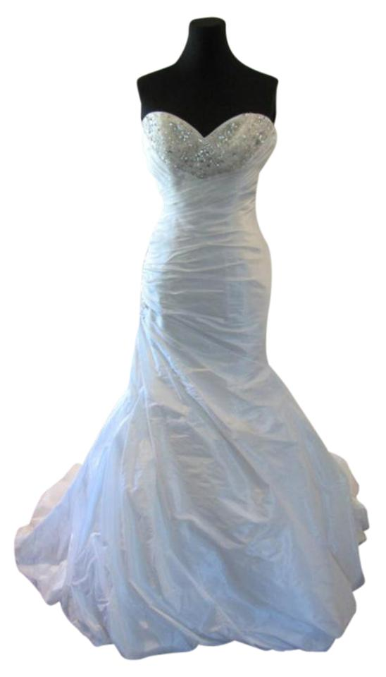 Bordeaux Wedding Dress