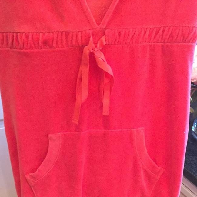 United Colors of Benetton Cute Velvety Hot Pink Suit Cover Up