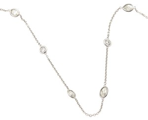 Other New 7.40ct Diamond By The Yard 14k Gold Assorted Shape Chain Necklace