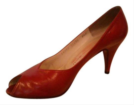 Bruno Magli Made In Italy red Pumps