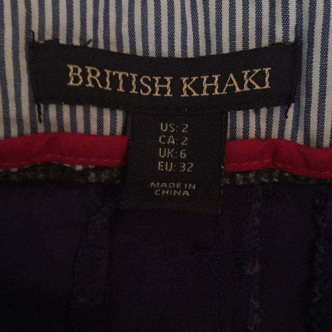 British Khaki Mini/Short Shorts
