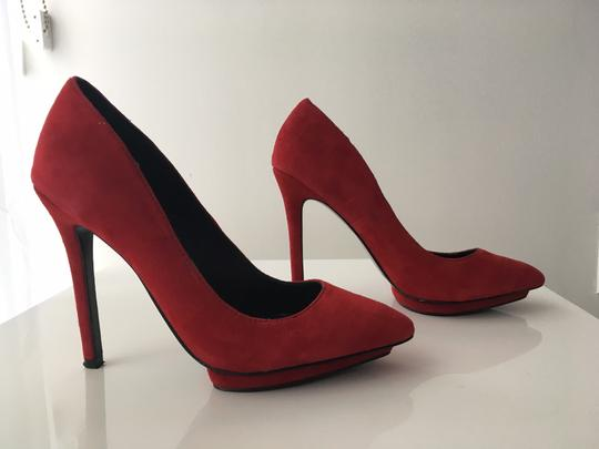 Dolce Vita Bella Suede Never Worn Red Pumps