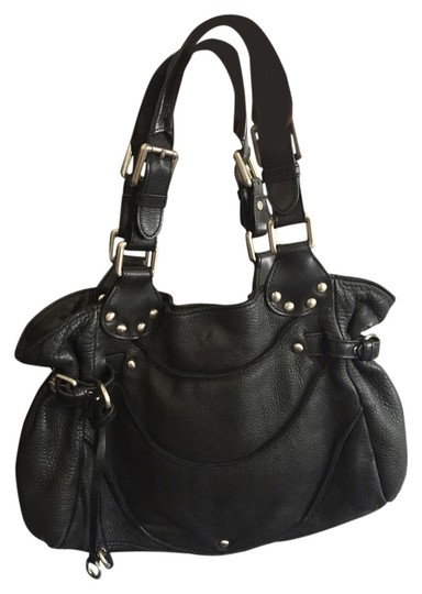 Kenneth Cole Satchel in Black leather